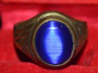 Batu Akik Mata Kucing Biru