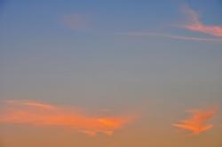 Wolkenfedertupfer...