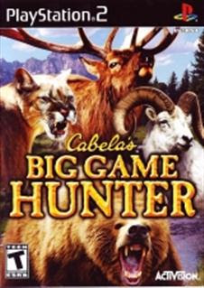 Cabelas Big Game Hunter   PS2