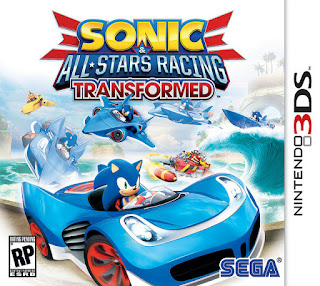 Sonic & All-Stars Racing Transformed USA 3DS GAME [.3DZ]