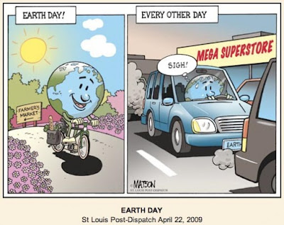 Matson cartoon | Earth Day (and every other day)