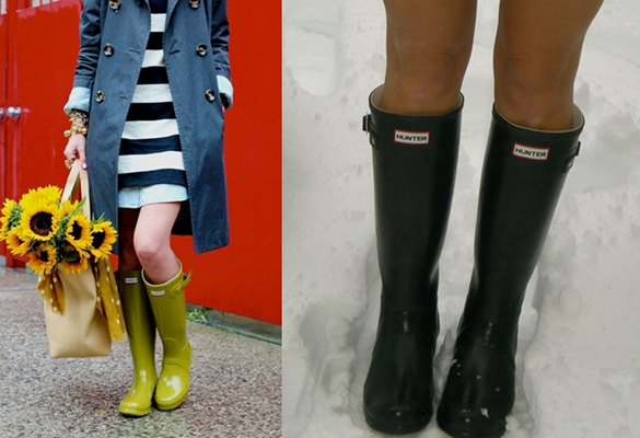 Hunter Boots Fashion