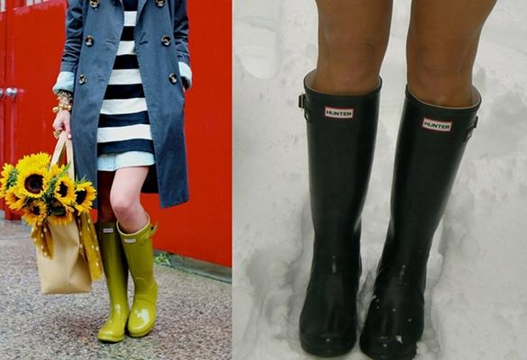 Hunter Boots Fashion