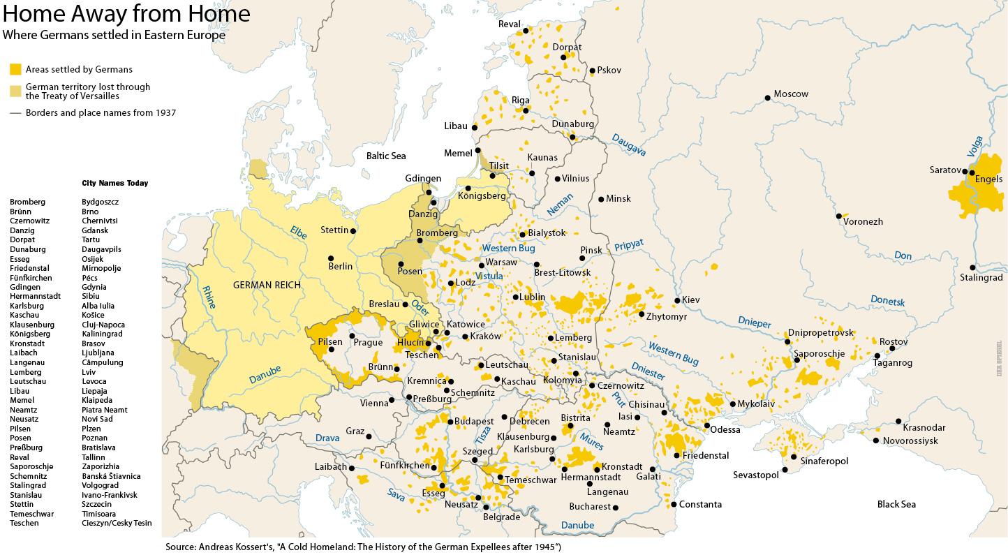 Map Middle Ages Germany - Germany map middle ages