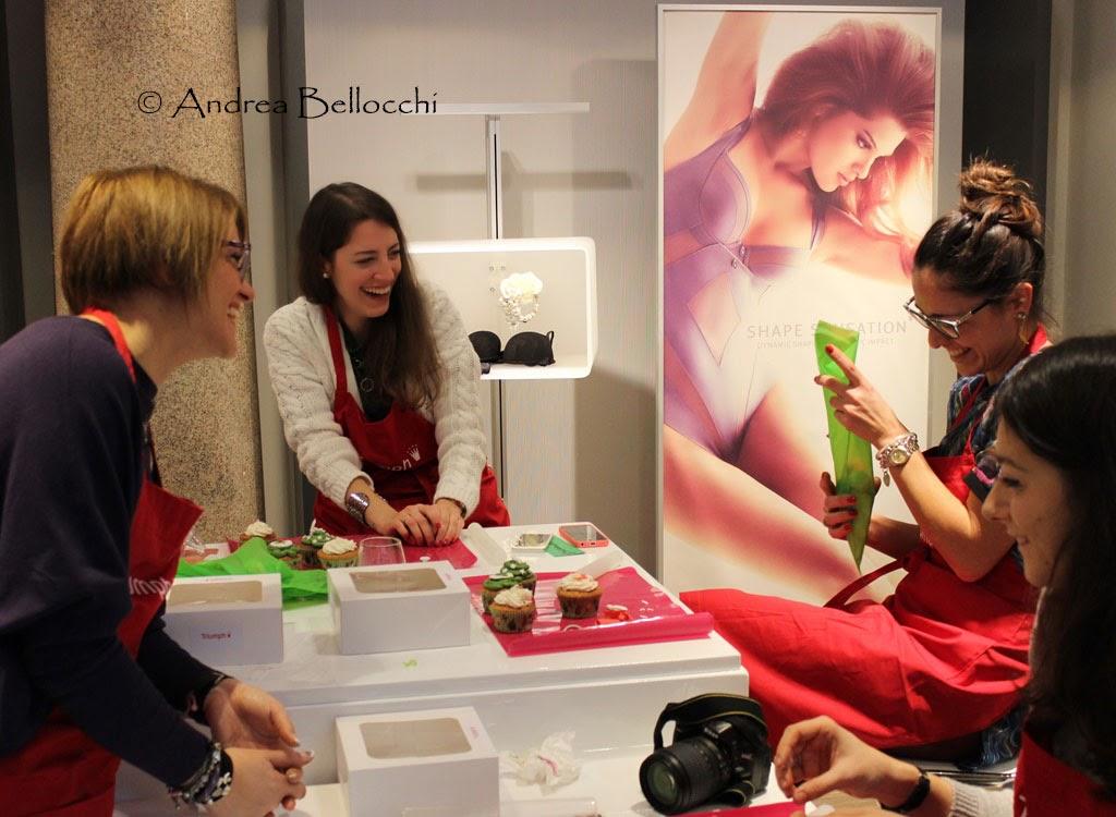 Evento Triumph a Milano #themakerofcupcakes Polvere di ...