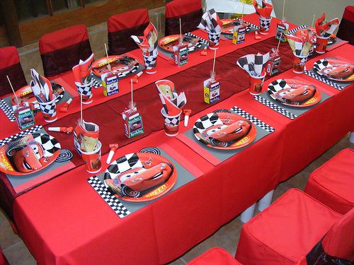 Decoración de Fiestas Infantiles de Cars : Fiestas Infantiles ...