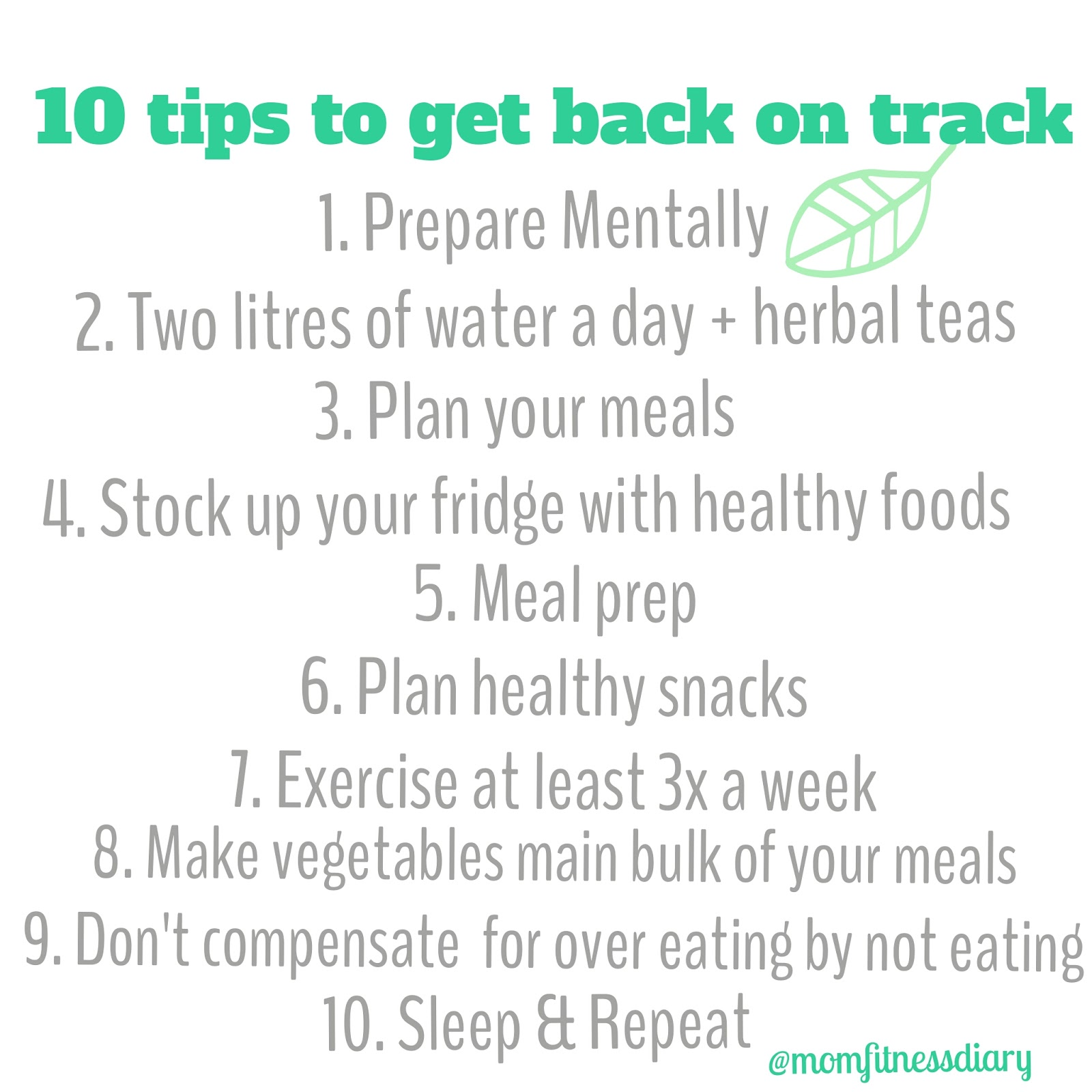 How to Get Back to Healthy Eating After Overindulging forecast