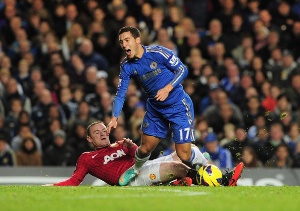Wayne Rooney Vs Eden Hazard