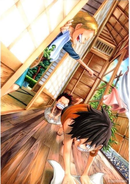 One Piece - Luffy family | Animez Wallpaper