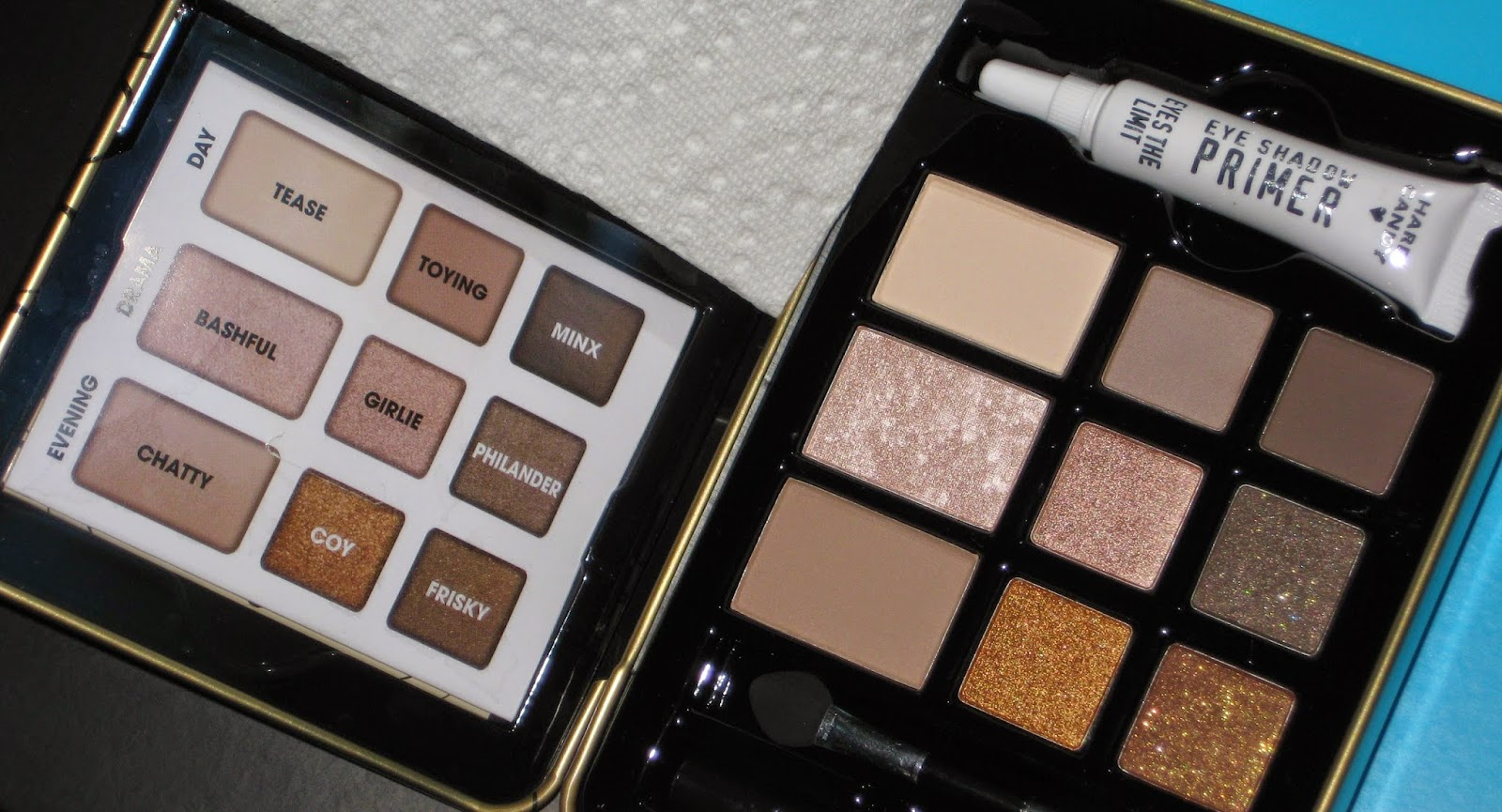 Lady Lostris Beauty Review Hard Candy Natural Eyes Palette Chalk