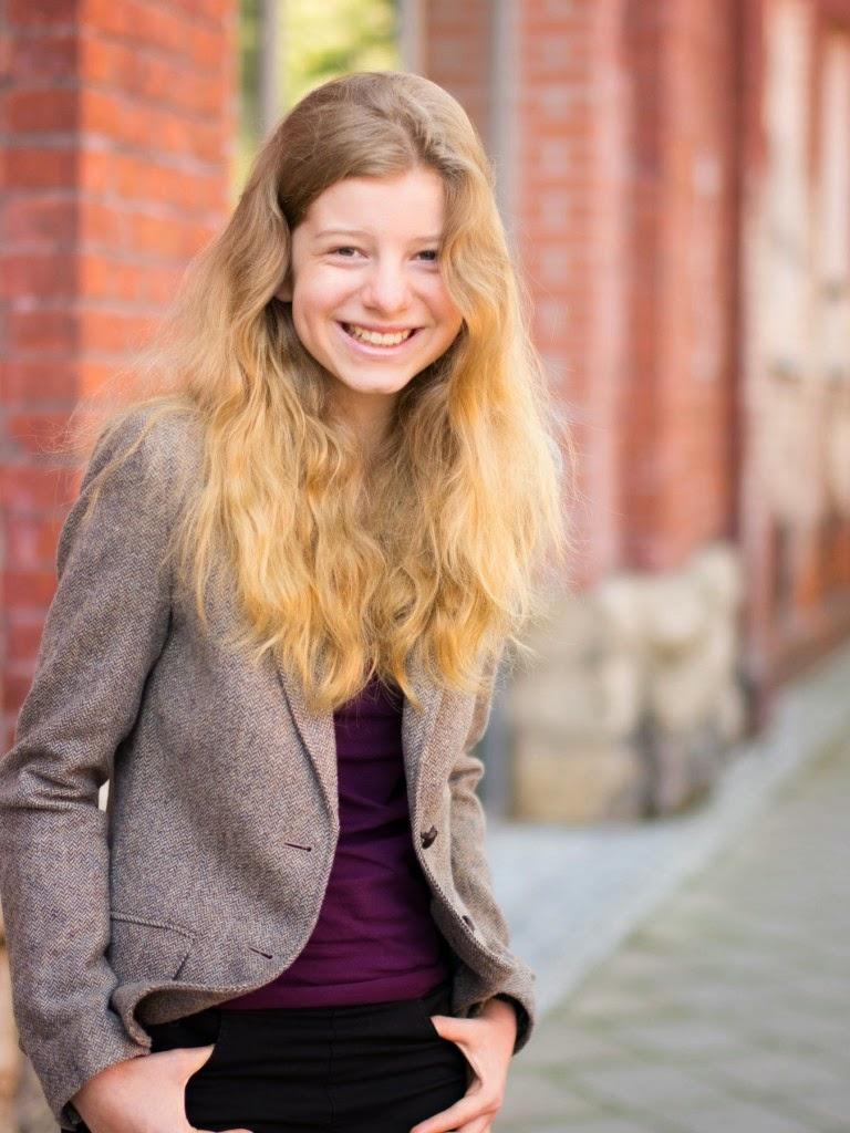 Schloss Einstein Blog: Kaja Eckert als Kathi Semmler