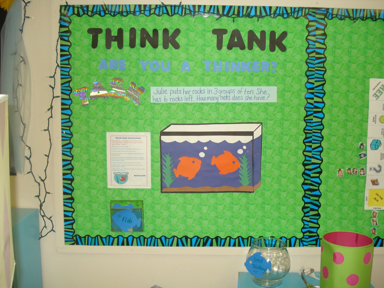Classroom Ideas Bulletin Boards ~ The idea backpack guest ger ideas for bulletin