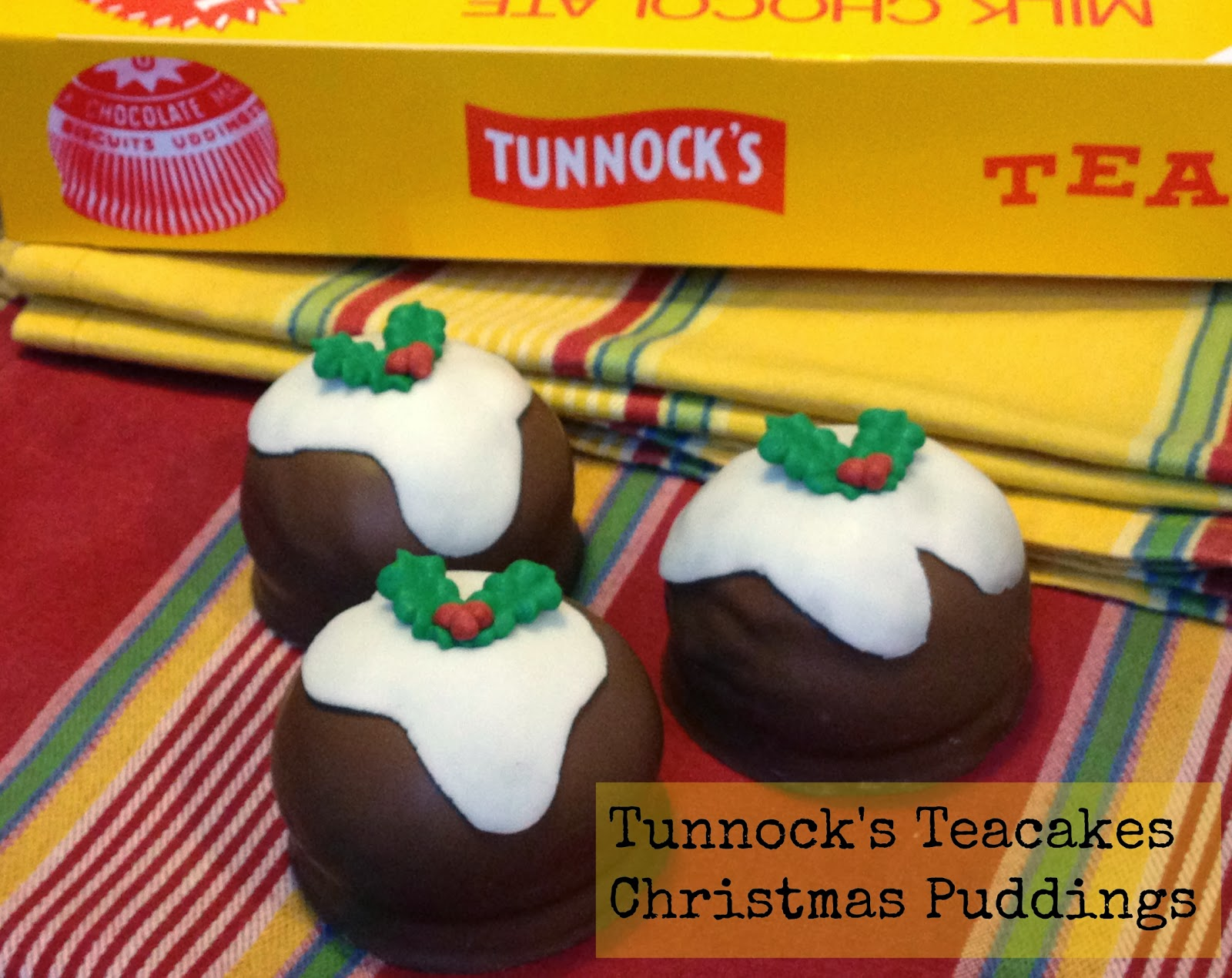 Christmas Fayre Craft Ideas Part - 29: Easy Cheat - Tunnocku0027s Teacake Christmas Puddings