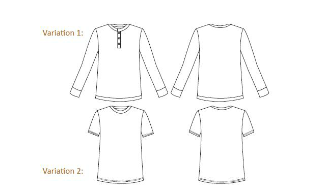 Four square walls o 39 henley for Long sleeve t shirt template illustrator