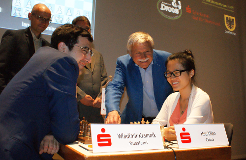 Dortmund Sparkassen Chess Meeting. Yifan - Kramnik