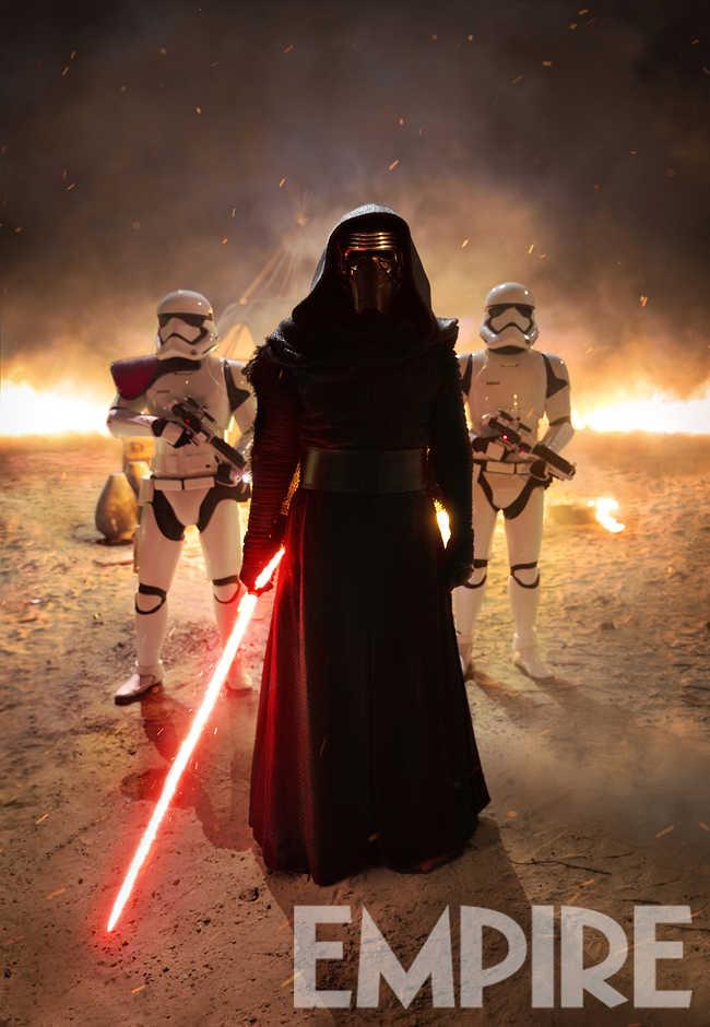 Звездные Войны 2016: новый постер с Кайло Реном