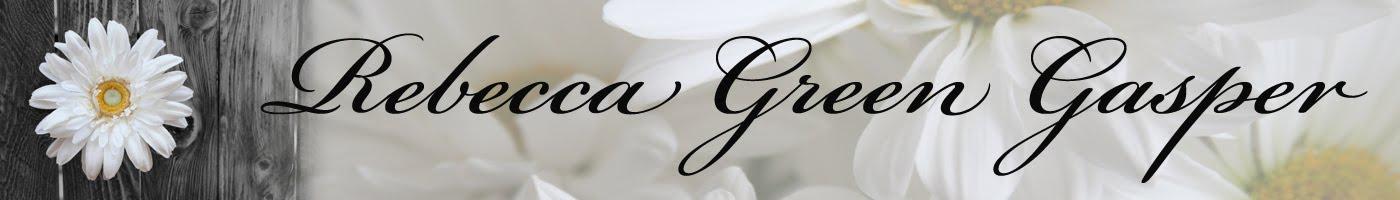 Rebecca Green Gasper Blog