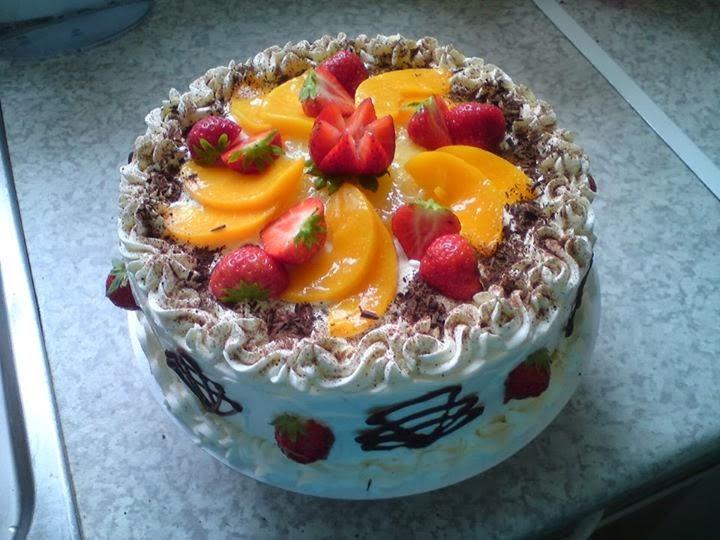 ... foto kue ulang tahun yang sederhana bisa untuk acara ulang tahun anak