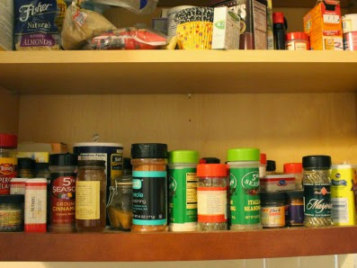 Spice Shelf Organization + Giveaway