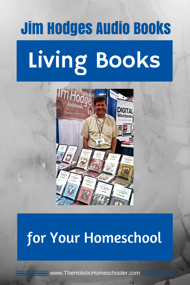 Jim Hodges Audio Books are the perfect edition to any homeschool. They're particularly helpful to struggling readers and auditory learners.