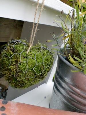 Alvas hobby: Blomstertrapp,mose og ideer:)