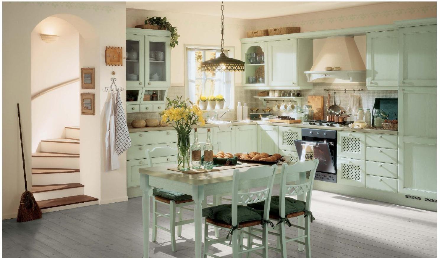 Кухня прованс фото дизайн 5