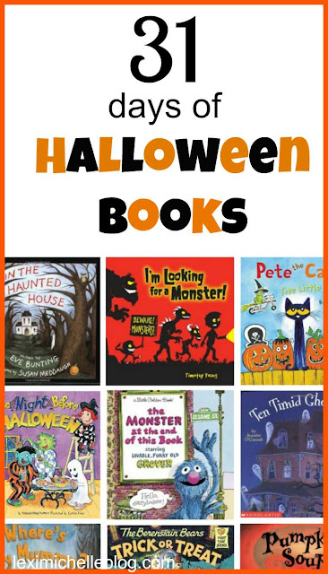 new Halloween tradition- read 1 new Halloween book every night leading up to Halloween