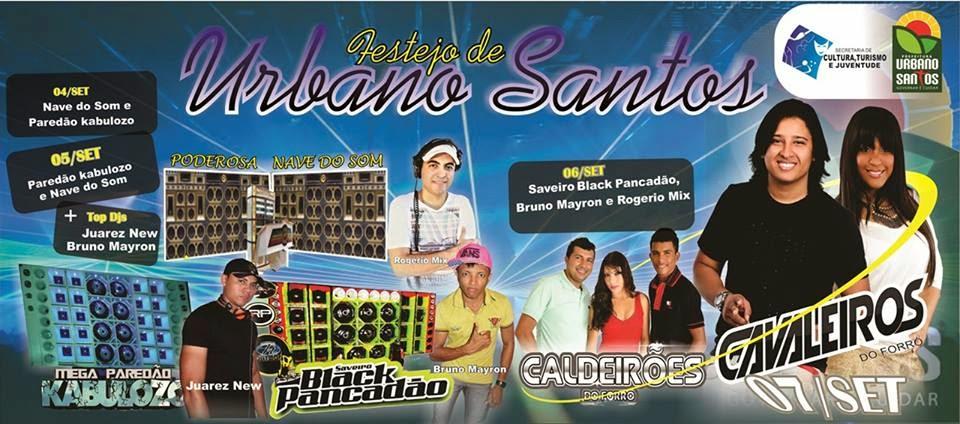 Festejo de Urbano Santos