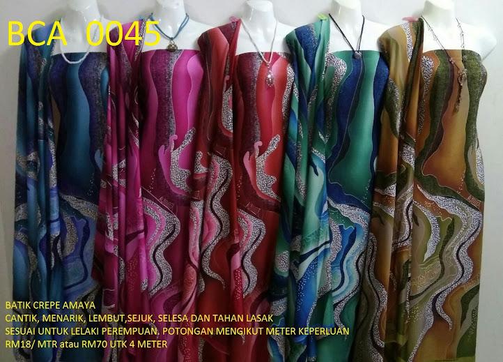BCA 0045: BATIK CREPE AMAYA, OPEN METER, RM18/MTR