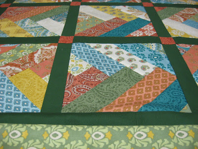 Prayer Flag Braid Quilt ~ Some Decisions