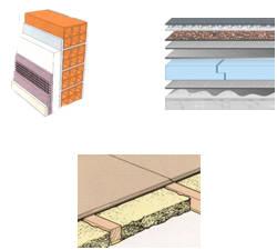 La importancia del asoleamiento en la vivienda - Tipos de aislamiento termico ...