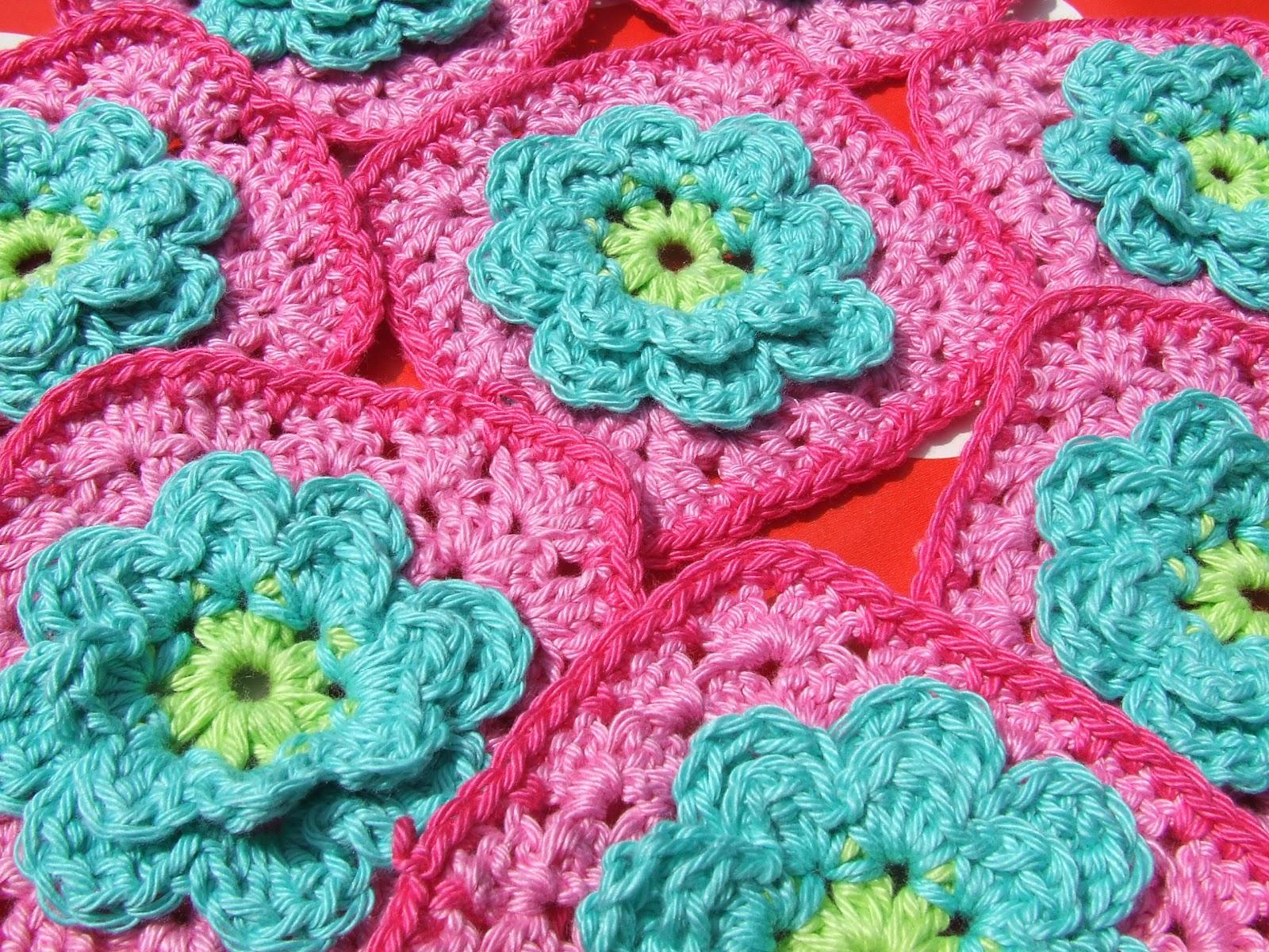 Petite Fee Patroon Bloem Granny Flower Granny