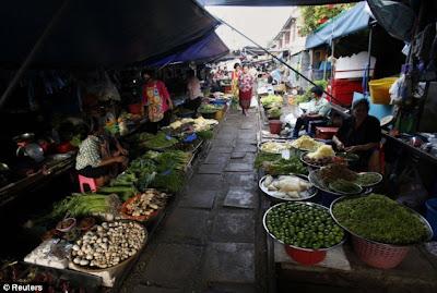 Pasar Paling Berbahaya