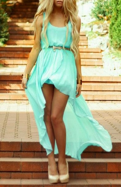 So nice mint dress