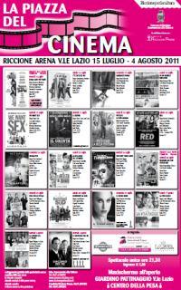 La Piazza del Cinema Riccione 2011