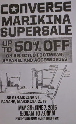 Converse Marikina Warehouse Super Sale 2015