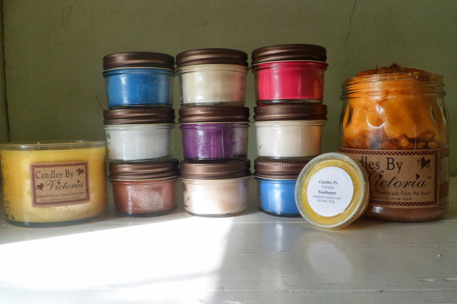 nutty scent of Coconut Jennyfer/'s Candles with the sweet