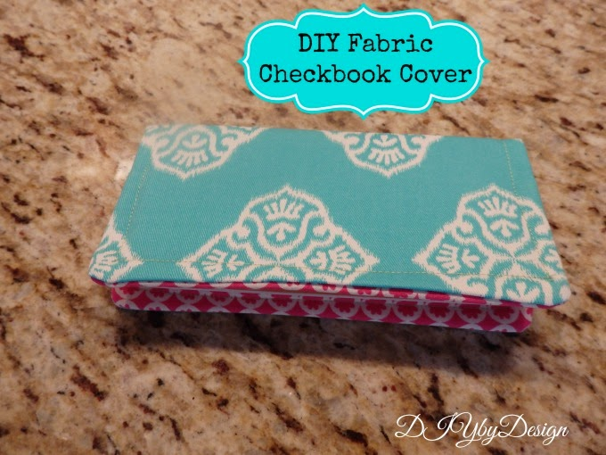 Fabric Cheque Book Cover : Diy by design fabric checkbook cover