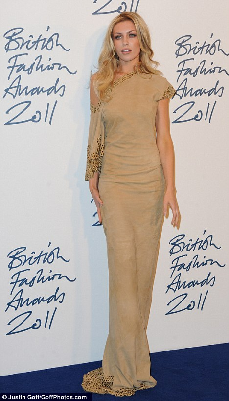 ... Pouty Abbey Crouch is unrecognisable from her fresh-faced teen years