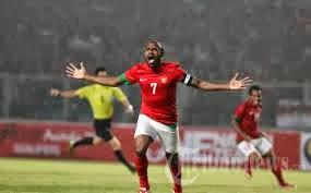 Hasil Indonesia VS China Kualifikasi Piala Asia (1 : 1) 15-10-2013