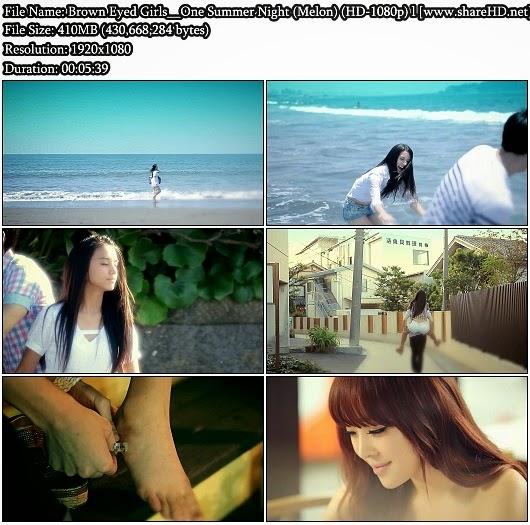 Download MV Brown Eyed Girls (브라운 아이드 걸스) - One Summer Night (한 여름밤의 꿈) (Melon Full HD 1080p)