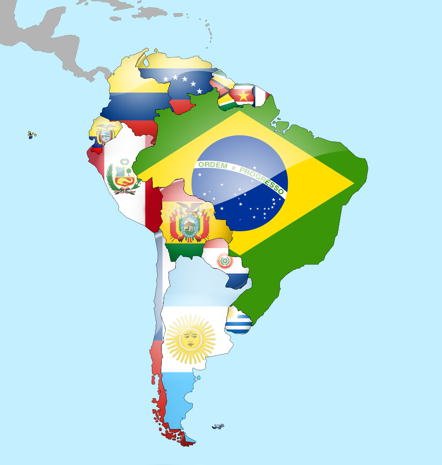Travelwithme Travel to South America – South America Travel Map