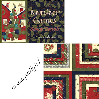 Moda REINDEER GAMES Christmas Quilt Fabric by Sandy Gervais