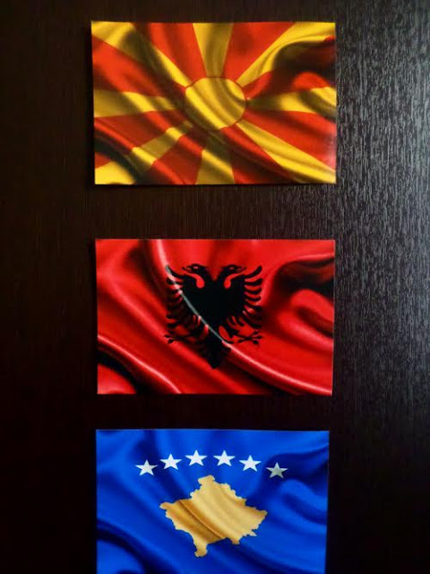 Macedonia, Albania, Kosovo