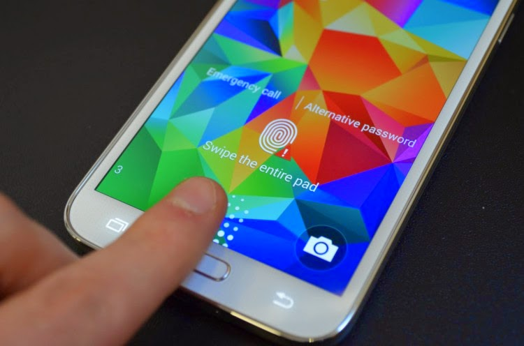 How To Set Samsung Galaxy Note 4 Fingerprint Scanner Biometric Lock