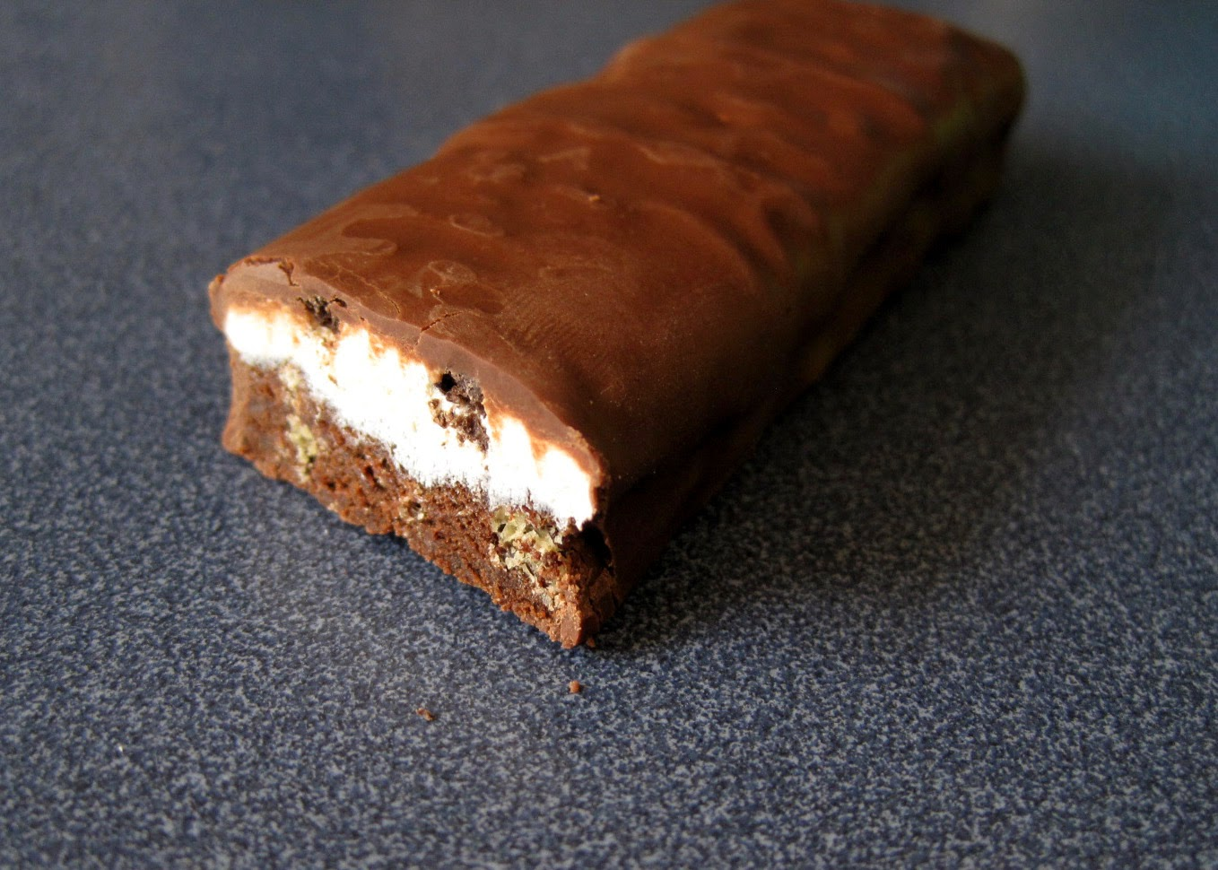 WonderSlim dark chocolate marshmallow low carb protein bar from Diet Direct review