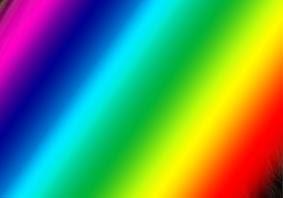 Efek Cahaya Pelangi Keren Dengan Gradient