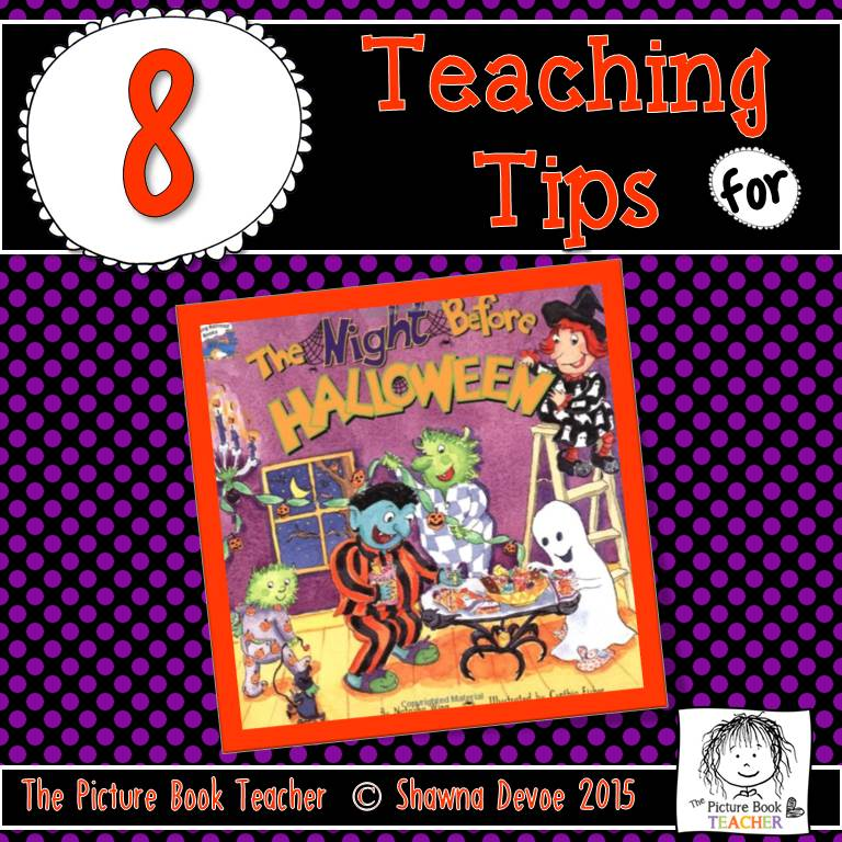 The Picture Book Teacher's Edition: The Night Before Halloween by ...