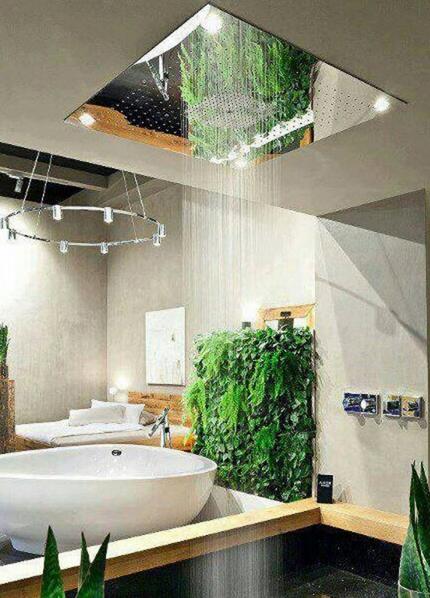 desain shower kamar mandi yang unik dan mewah desain rumah