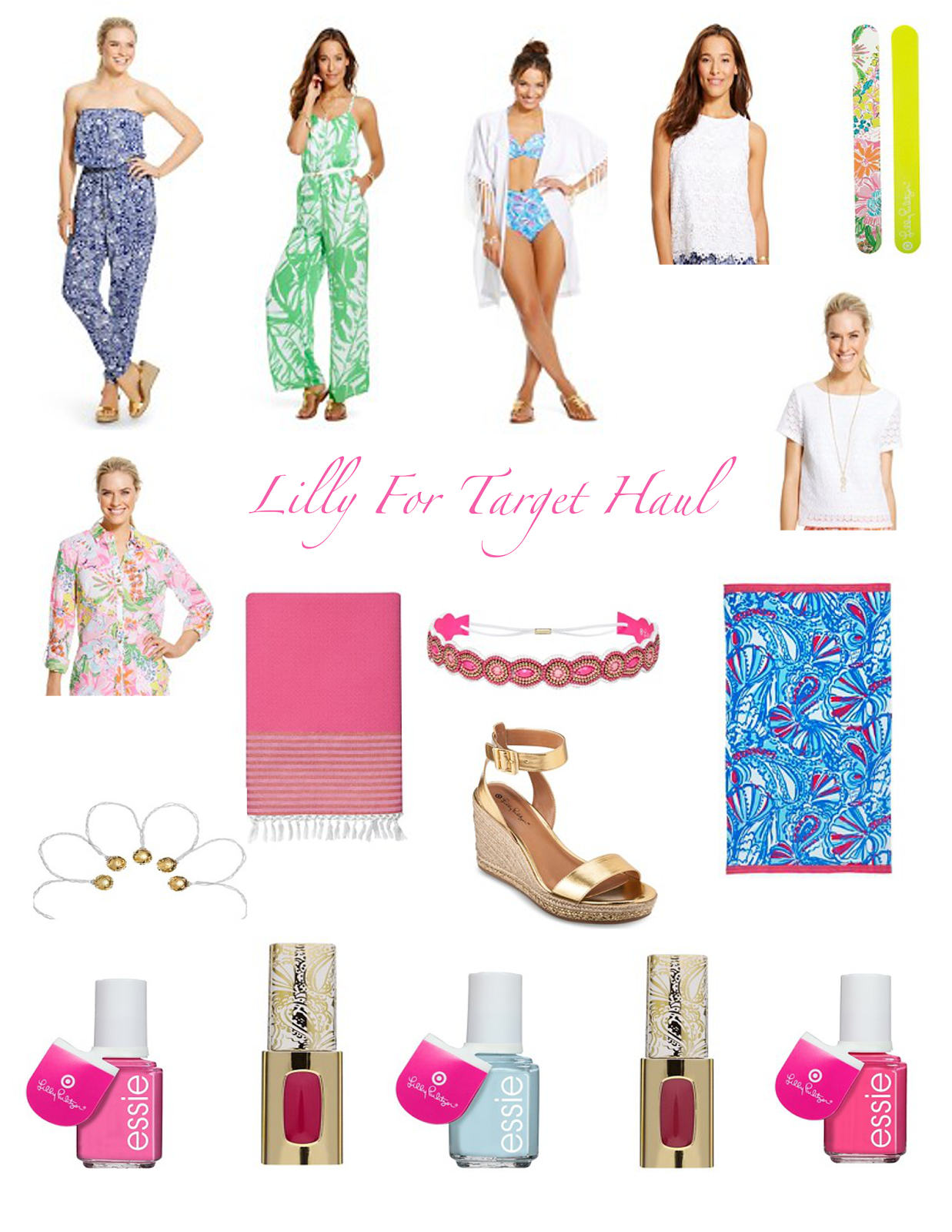 Lilly for Target Haul Anchors and Pearls